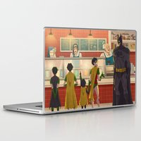 icecream Laptop & iPad Skins featuring  Icecream Stand by soni