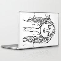 britney spears Laptop & iPad Skins featuring Britney Spears In Lines by JennFolds5 * Jennifer Delamar-Goss