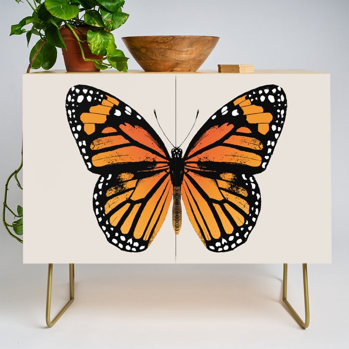 Monarch Butterfly | Vintage Butterfly | Credenza