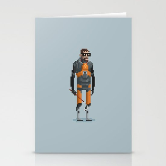 Man With a Crowbar Stationery Cards