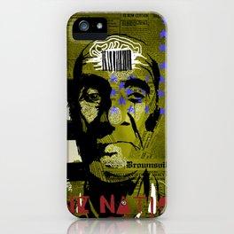UNDER CONTROL iPhone Case