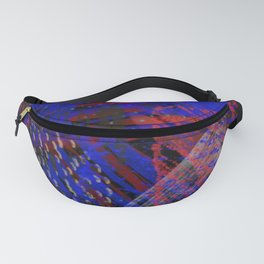 Abstract blue background Fanny Pack