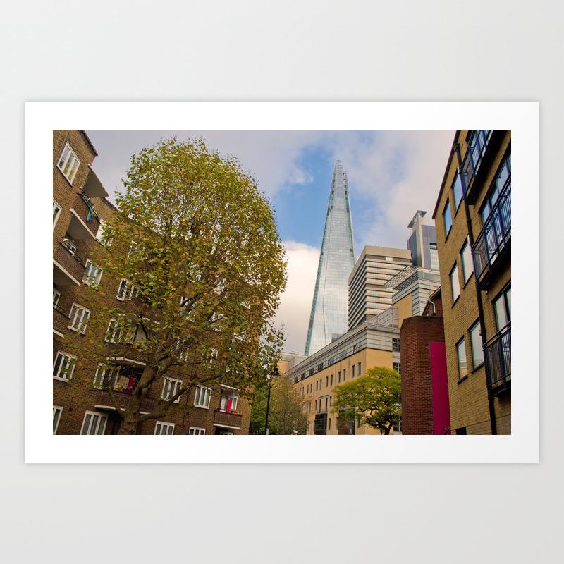 The Shard London Bridge Tower Southwark Uk Art Print By Andyevansphotos Society6