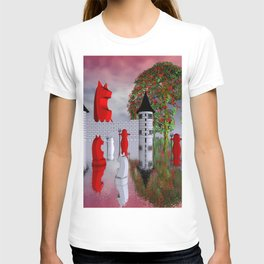 guardians of chess castle T-shirt