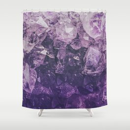 Amethyst Gem Dreams Shower Curtain