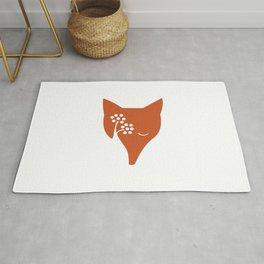 Red Fox and Rowan Tree Rug
