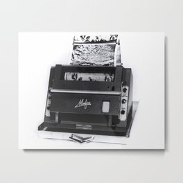 Automatic Picture Transmission Metal Print