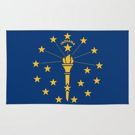 Indiana State Flag Rug