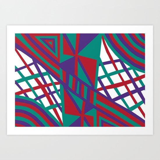 Purple Infusion Art Print