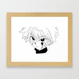 Killua HunterXHunter Framed Art Print