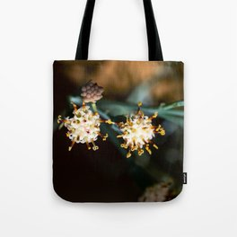 Balsamico white flower Tote Bag