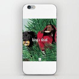 King's dead iPhone Skin