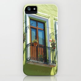 Balconies of Puebla  iPhone Case