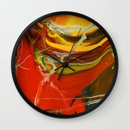 Color Explosion 3 Wall Clock