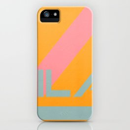 "Vila Madalena - Series ""Districts of São Paulo"" iPhone Case"