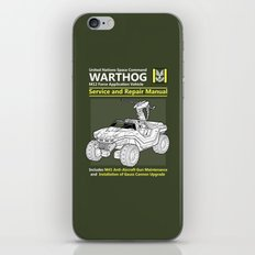Warthog Service and Repair Manual iPhone & iPod Skin
