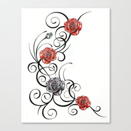 Celebration Roses Canvas Print