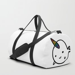 BIG RAINBOW BUDDY NARWHAL Duffle Bag
