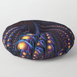 Into the Unknown Floor Pillow