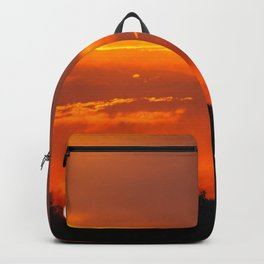 Urban sunsets Backpack