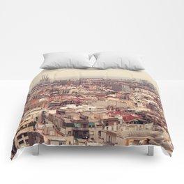 Travel Series: Barcelona II Comforters