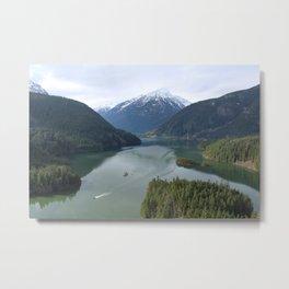 Diablo Lake Overlook Metal Print