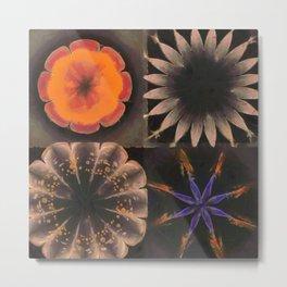 Shamaness Nude Flowers  ID:16165-134337-14980 Metal Print