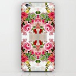 Romantic Flower Arrangement iPhone Skin