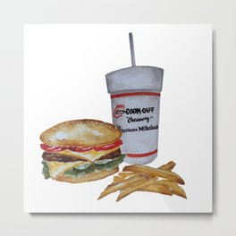 Cook Out Tray Metal Print