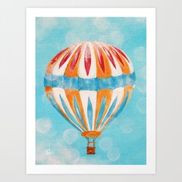 Hot Air Balloon #5 Art Print
