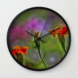 Marigold Trio Wall Clock