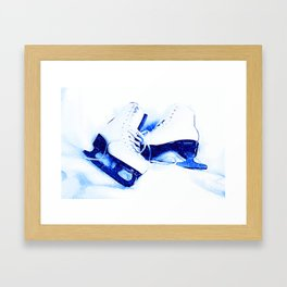 Anyone For Skating? Framed Art Print