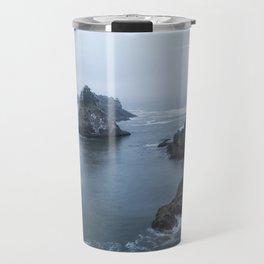 Between Dawn and Sunrise at Arch Rock Picnic Area, No. 2 Travel Mug