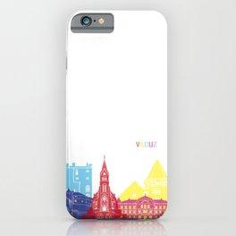Vaduz skyline pop iPhone Case