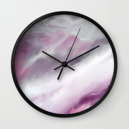 New ways. Flashes of thought. Wall Clock