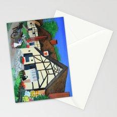 Old Village  Stationery Cards