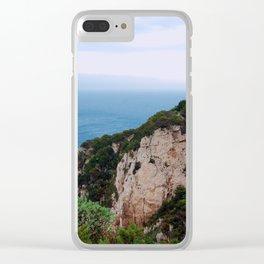 coast of Sardinia, Italy Clear iPhone Case