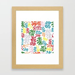 Matisse Pattern 004 Framed Art Print