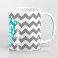 crown Mugs featuring Crown :) by Jordan Virden