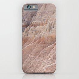 Badlands Pink iPhone Case