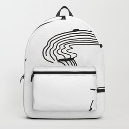 Lines That Fall Backpack