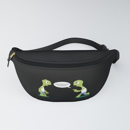 Funny Turtle Tortoise Stealing Shells Keeper Gift Fanny Pack