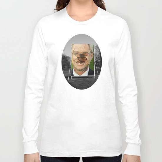 Zombie Poster Collage 4 - the gardener sw Long Sleeve T-shirt