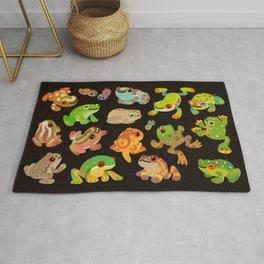 Tree frog - dark Rug