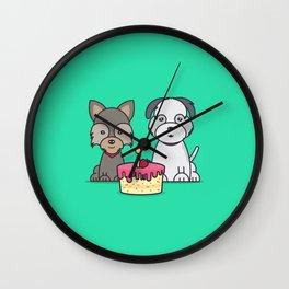 Momo & Mochi Birthday Wall Clock
