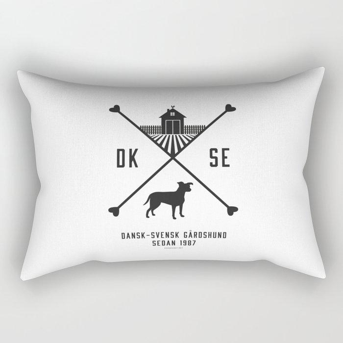 Since 1987 - black Rectangular Pillow