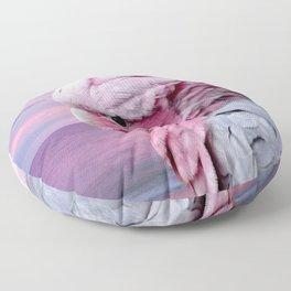 Pink Galah Cockatoo Floor Pillow