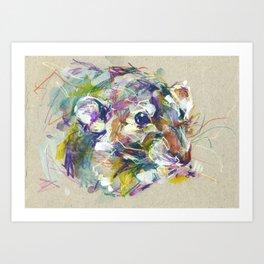 Vénielle the rat II Art Print