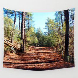 The Parting of Ways in Prescott National Forest Wall Tapestry