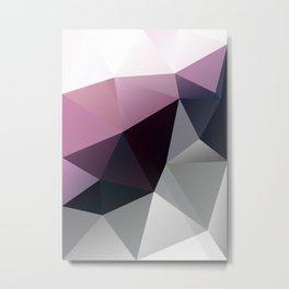 Aubergine Metal Print